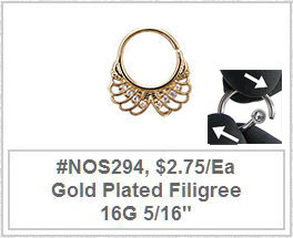 #NOS294 Gold Plated Filigree_MAIN