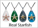 PEN2902, PEN2903, Real Starfish Necklace THUMBNAIL