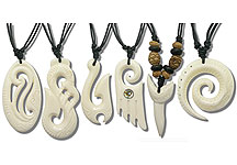 PEN2000 Bone Carved Pendants