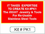 #PK1 Big Piercing Kit (w/Sterile Needles) THUMBNAIL