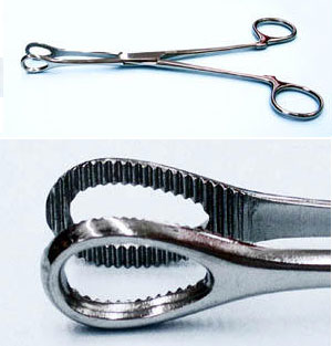 Forceps PT1083 Round Closed