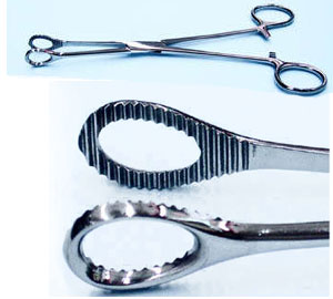 Forceps PT1096 Round Closed MAIN
