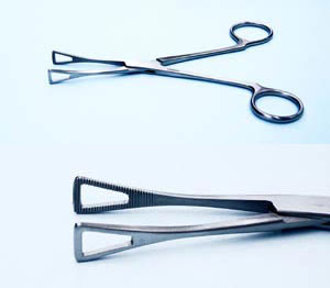 Forceps PT1104 Trian Closed