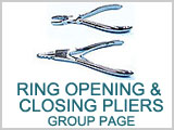 Ring Opening & Closing Plier Group Page