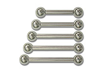 10 Gauge Externally Threaded Barbells