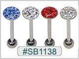 SB1138, 14G Sealed Gem-Top Designs THUMBNAIL