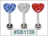 SB1139, 14G Sealed Gem-Top Designs THUMBNAIL