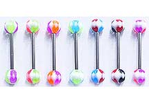 SB2120 UV Ball Barbells THUMBNAIL