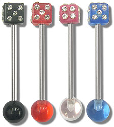 SB3200 Gem Dice UV Ball Barbells MAIN