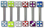 SB3412 UV Dice Barbells THUMBNAIL