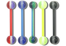 SB4320 Stripe Ball UV Barbells THUMBNAIL
