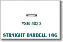 18 Gauge Body Piercing Barbells