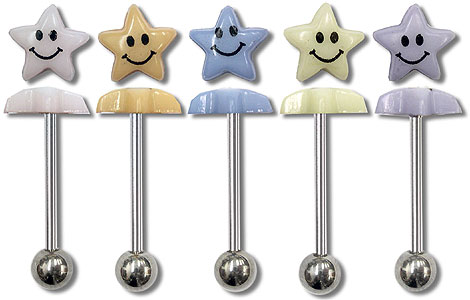 SB5180 Smiley Star Barbell MAIN
