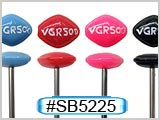 "SB5225, Viva Via... ""VGR500"" 14Gauge Barbells"