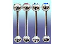 "SB5300 14 Gauge 3/4"" Gem Barbell"