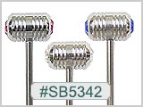 SB5342, Stripes Around Barbells THUMBNAIL