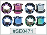 SE0471, Color Single Flared Tunnels MAIN