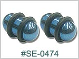 SE0474 Blue Titanium Coated Plugs THUMBNAIL