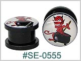 SE0555, Devil's Cauldron Plastic Threaded Tunnels