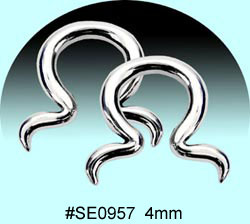 SE0957 Ear Talon Stainless Steel Pair MAIN