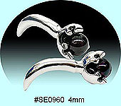 SE0960 Ear Talon Stainless Steel Pair THUMBNAIL