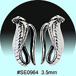 SE0964Ear Talon Stainless Steel Pair