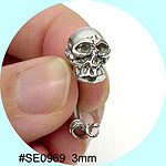 SE0968Ear Talon Stainless Steel Pair THUMBNAIL