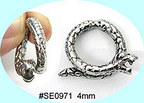 SE0971 Ear Talon Stainless Steel Pair