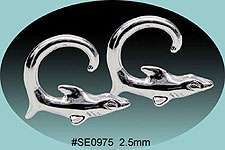 SE0975 Ear Talon Stainless Steel Pair THUMBNAIL
