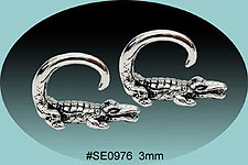 SE0976 Ear Talon Stainless Steel Pair