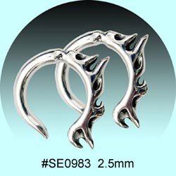 SE0983 Ear Talon Stainless Steel Pair MAIN