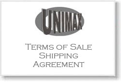 Shipping & Order Terms Mandatory Agreement