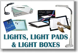 Lights, Light Pads, Light Boxes