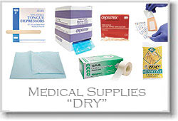 Medical Supplies (Dry)
