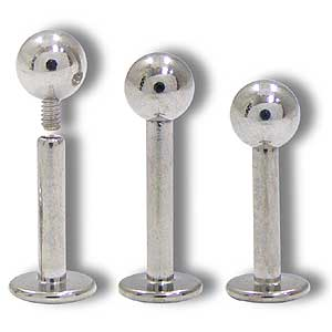 SL0220 14G Labret Internally Threaded with Ball MAIN