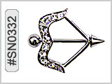 SN0332 Gem Bow and Arrow THUMBNAIL