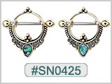SN0425, Nipple Ring Design THUMBNAIL