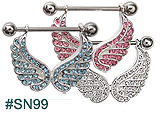 SN99, Gem Wings Nipple Jewelry_THUMBNAIL
