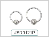 "SR0121P 18 Gauge Hand Polished 1/4"" CBR"