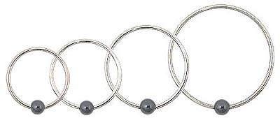 14 Gaueg Captive Bead Rings Hemae