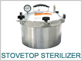 Sterilizer # 29A01 Stove Top
