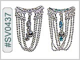 SV0437, Marquise Gem Chain Dangle