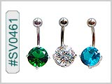 SV0461, Prong Set 10mm Gem Solitaires THUMBNAIL