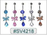 SV4218 Gem Butterfly with Pear Dangle_THUMBNAIL