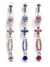 14G Navel Dangles $3.75/Ea