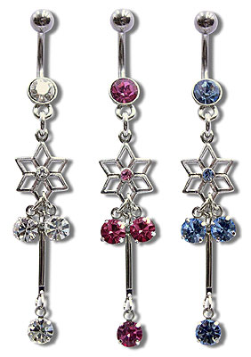 Navel Dangles SV5505 $1.85/Ea