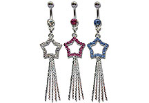 Navel Dangles SV5509 $2.40/Ea