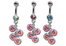 Navel Dangles SV5513 $2.10/Ea