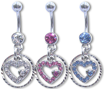 Navel Dangles SV5514 $2.10/Ea