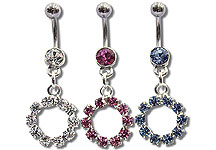 Navel Dangles SV5521 $2.10/Ea